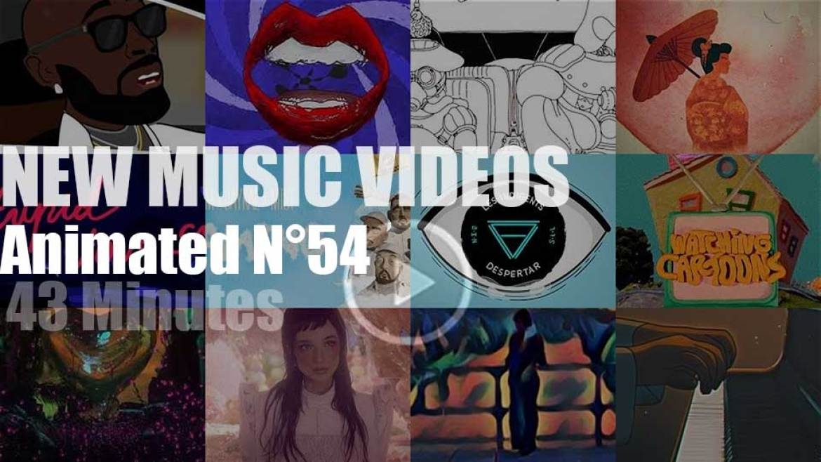 New Animated Music Videos N°54
