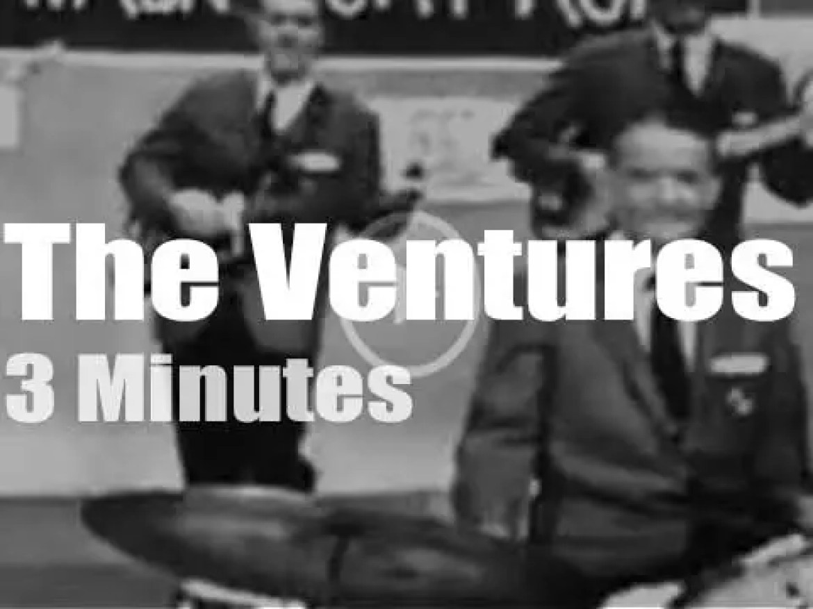 On TV today, The Ventures at 'Saturday Night Beech Nut Show' (1960)