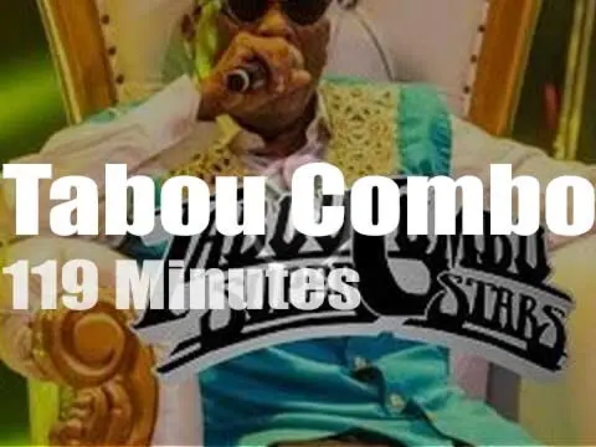 Tabou Combo celebrate (virtually) their 52nd year Anniversary (2020)