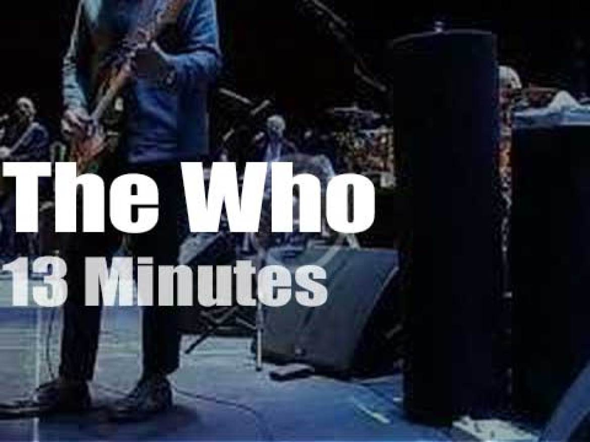 The Who are 'moving' to Toronto (2019)