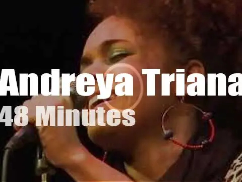 Andreya Triana celebrates 20 years of  Ninja Tune (2010)