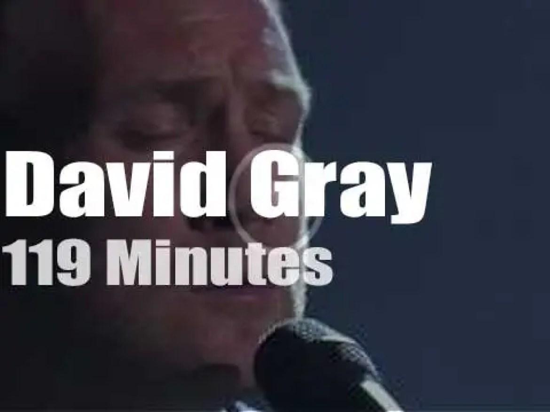 David Gray serenades London (2014)