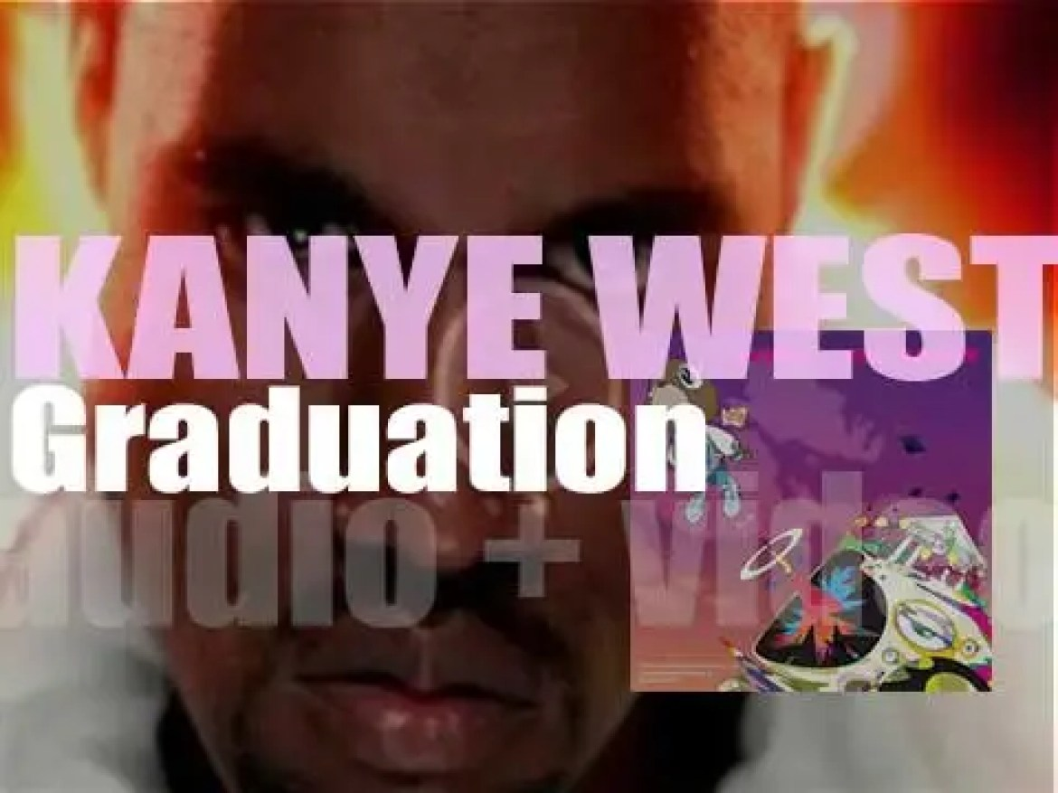 Kanye West releases 'Graduation,'  his third album featuring T-Pain, Lil Wayne, Mos Def and Chris Martin among other guests (2007)