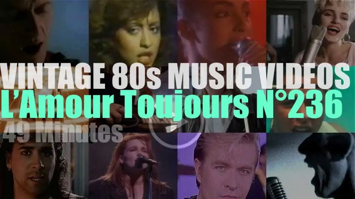 'L'Amour Toujours'  N°236 – Vintage 80s Music Videos