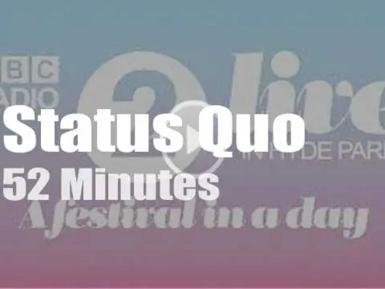 Status Quo rock Hyde Park (2019)