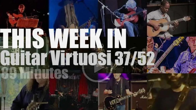 This week In Guitar Virtuosi 37/52