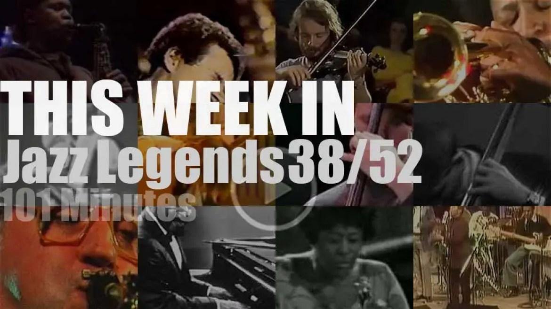 This week In Jazz Legends 38/52