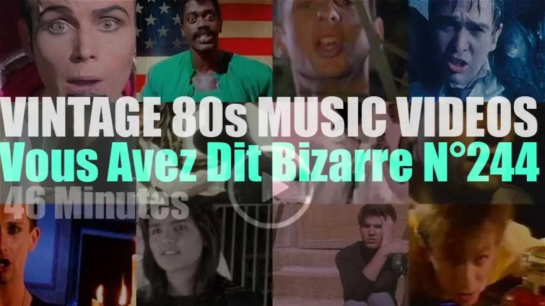 'Vous Avez Dit Bizarre'  N°244 – Vintage 80s Music Videos