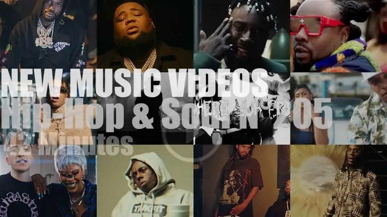 Hip-Hop & Soul N°205 – New Music Videos