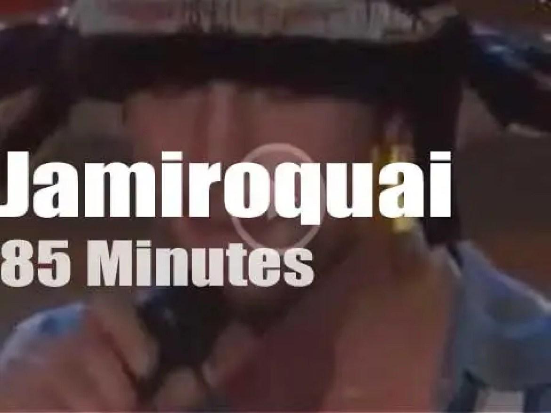 Jamiroquai takes his 'Funk Odyssey' to Milan (2001)