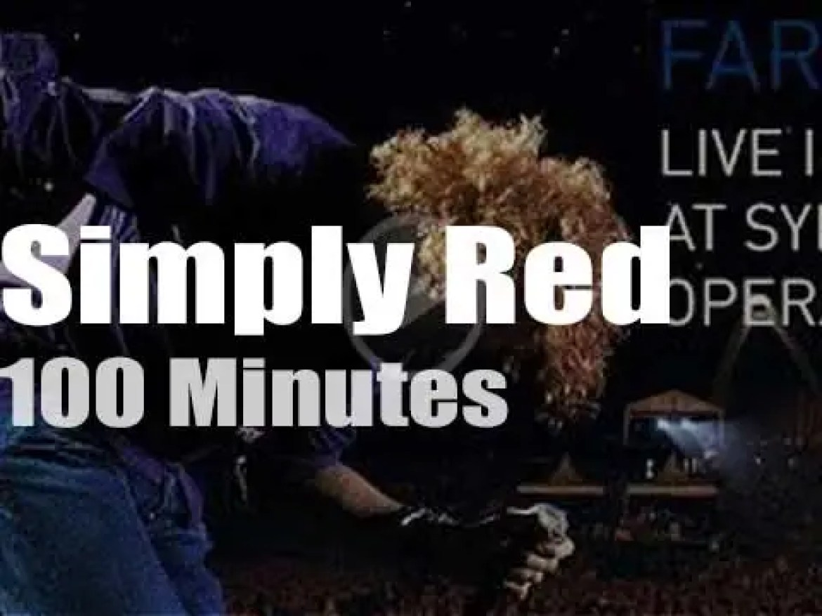 Simply Red say 'Farewell' to Sydney (2010)