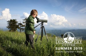 Blue Ridge Discovery Center Summer Camp Registration is now Open!