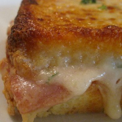 Campground Croque Monsieur