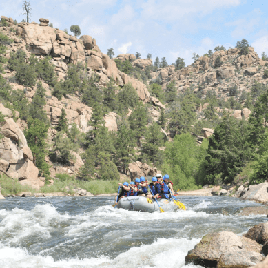 The Best Whitewater Rafting in the U.S. — The Arkansas River in Colorado