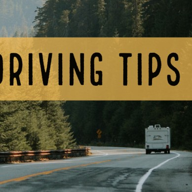 RV Driving Tips for Beginners