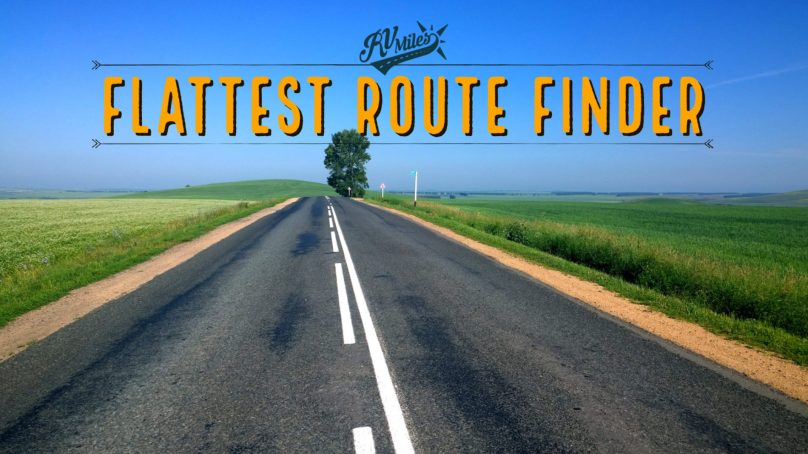 Flattest Route Finder