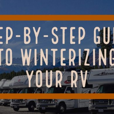 Step-by-Step Guide to Winterizing Your RV