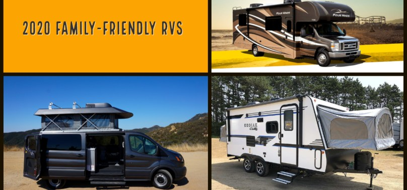 Five Great Family-Friendly RVs for 2020