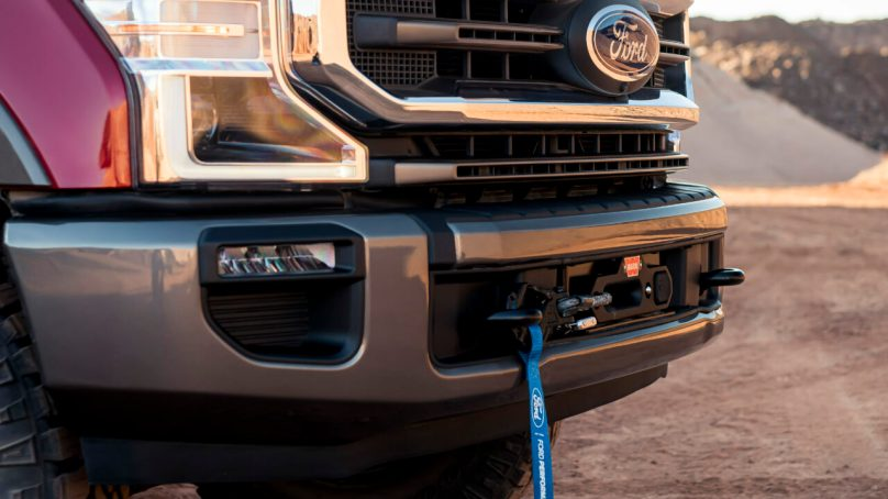 Ford Adds 12,000lb Winch Option to Super Duty Tremor Package