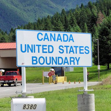 Canadian Border Closes, Campground Closures Move Beyond State Parks