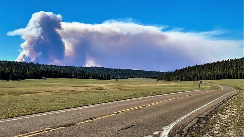 Grand Canyon North Rim Closed Until Further Notice Due to Magnum Fire
