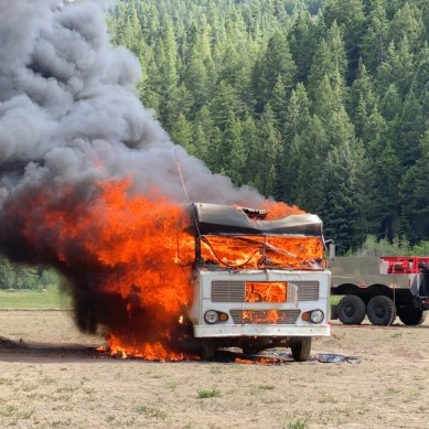 RVLove Sets Fire To RV