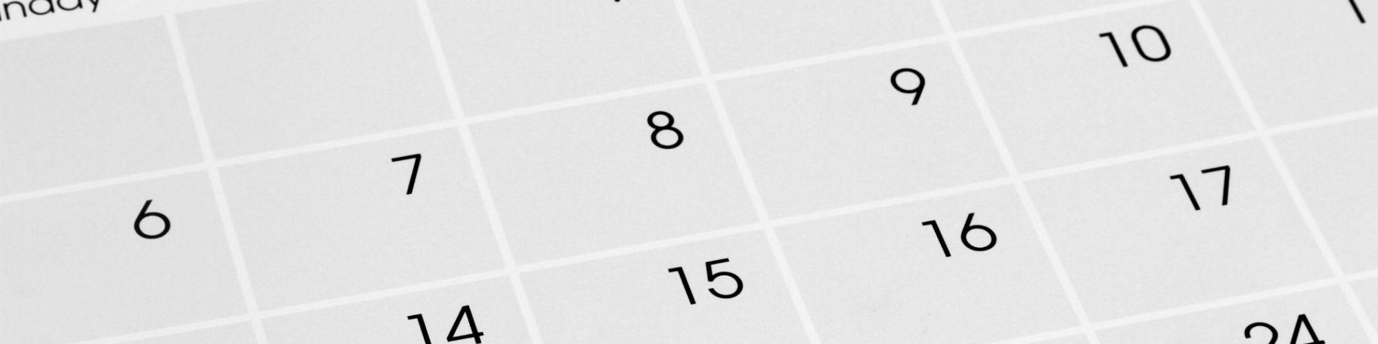 Calendar back ground