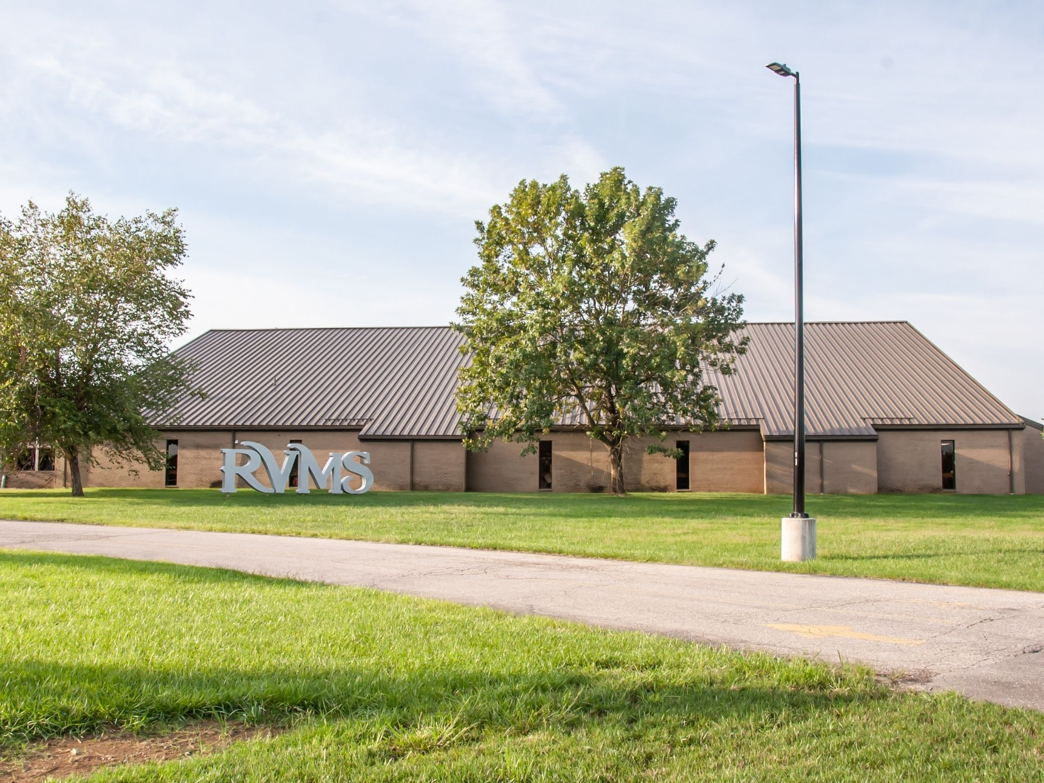 Front of River Valley Middle School