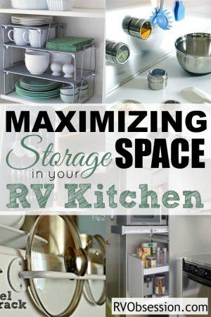 Small Kitchen Storage Ideas Rv Obsession