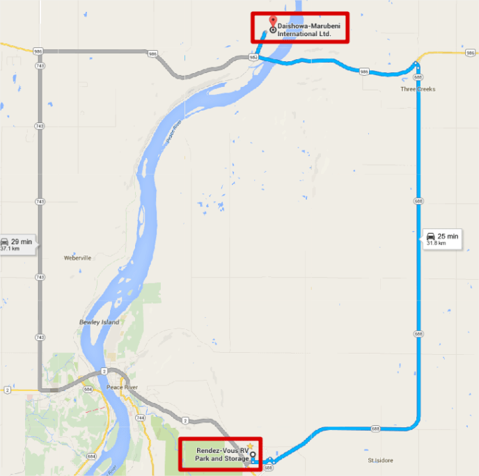 DMI map