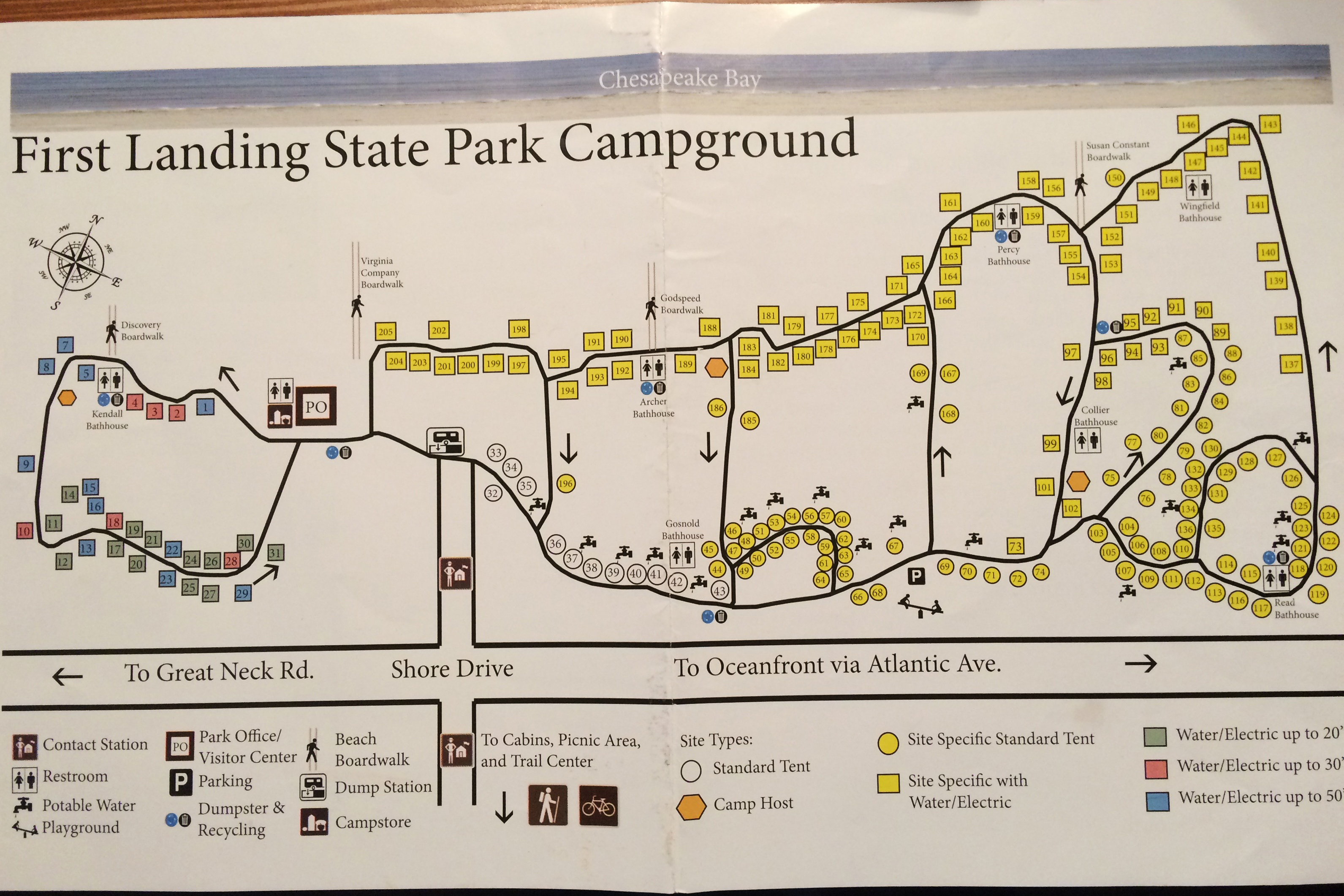 First Landing State Park Rv Camping Review Rv Places To Go