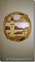 Lighthouse carving