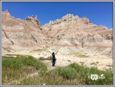 At Badlands National Park. South Dakota. Photo Credit: Stephen Jones