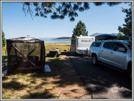 Camping by Eagle Lake