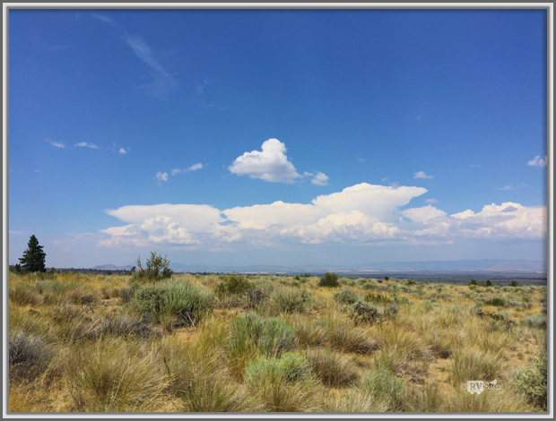Cumulusnimbous CloudsCumulonimbus Clouds Seen From Lava Beds National Monuments