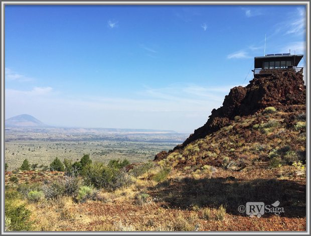 Fire Lookout On the Schonchin Butte, Lava Beds National Monument