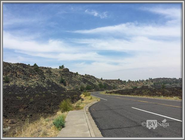 Devils Homestead Lava Flows,  Lava Beds National Monument