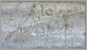 Petroglyph 3, Petroglyph Point