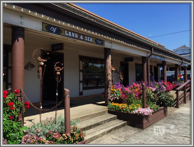 Shops, Florence, Oregon