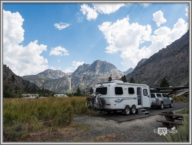 Camping at Silver Lake Campground