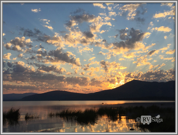 Sunrise at Eagle Lake, Susanville, California