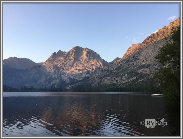 Carson Peak by Silver Lake