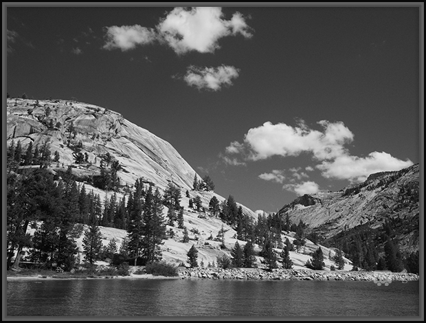 Granite Cliffs by Tenaya Lake
