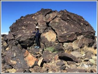 A Giant Lava Rock. Coso, California. Photo Credit: Stephen Jones