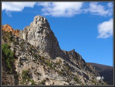Odd Shaped Rock at the Big Bend