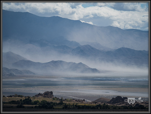Dust Storm Above Owens Lake