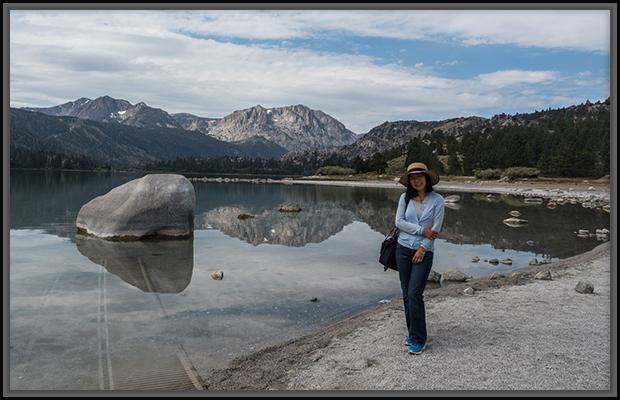 Weiwei by June Lake