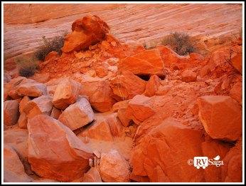 Fiery Rocks