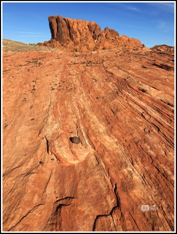 Lines on Rock Bed