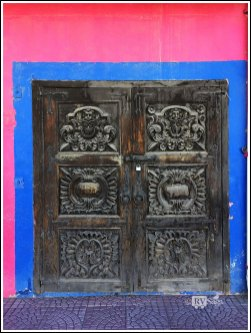 An Old Door at Pink Store